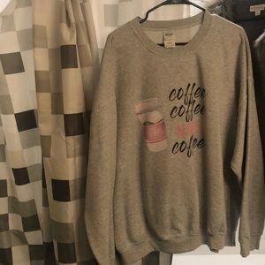 Tops - Oversized Sweatshirt
